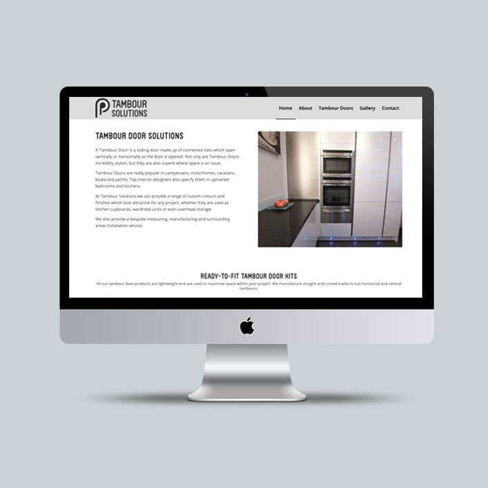 Tambour Solutions Website